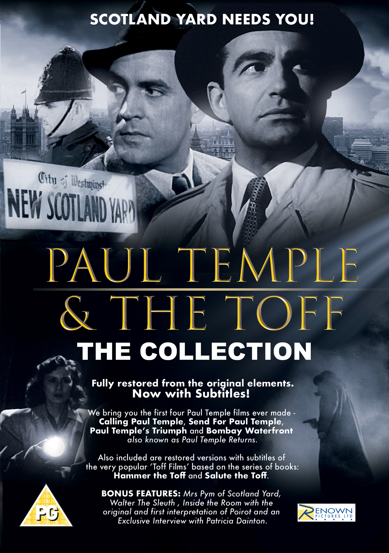 Paul Temple And The Toff  The Collection