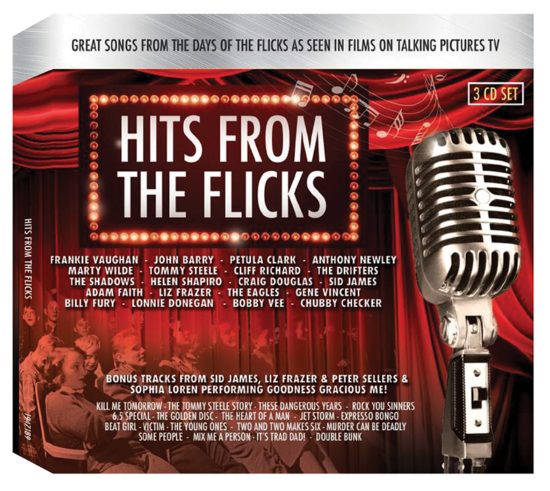 HITS FROM THE FLICKS TRIPLE CD